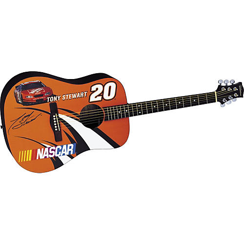 Silvertone NASCAR Collection Tony Stewart Acoustic Guitar