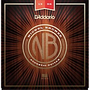 D'Addario NB1356 Nickel Bronze Medium Acoustic Strings
