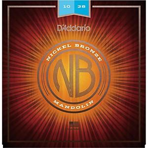 Daddario NBM1038 Nickel Bronze Light Mandolin Strings 10-38 by D'Addario