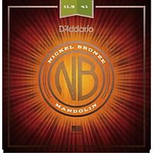 D'Addario NBM11541 Nickel Bronze Medium-Heavy Mandolin Strings (11.5-41)