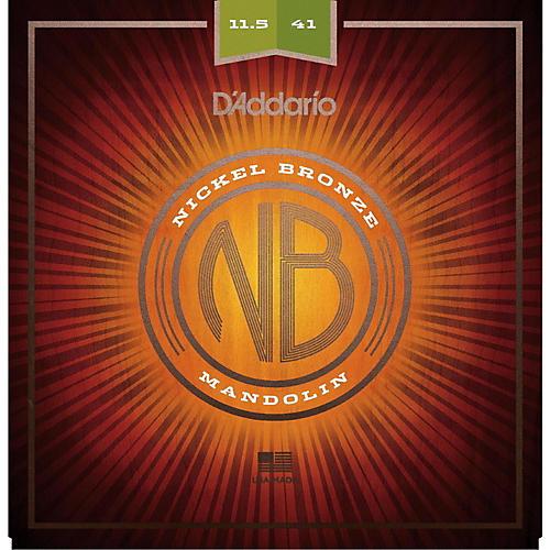 D'Addario NBM11541 Nickel Bronze Medium-Heavy Mandolin Strings (11.5-41)-thumbnail
