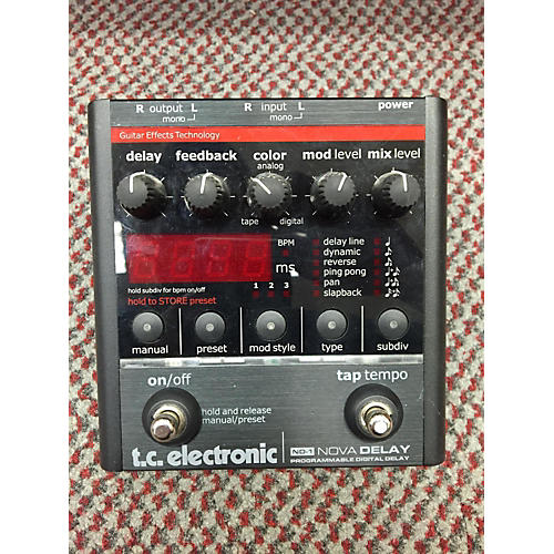 TC Electronic ND1 Nova Delay Effect Pedal