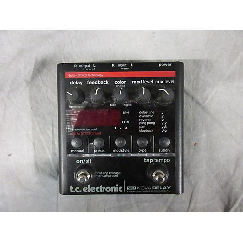 TC Electronic ND1 Nova Delay Effect Pedal-thumbnail