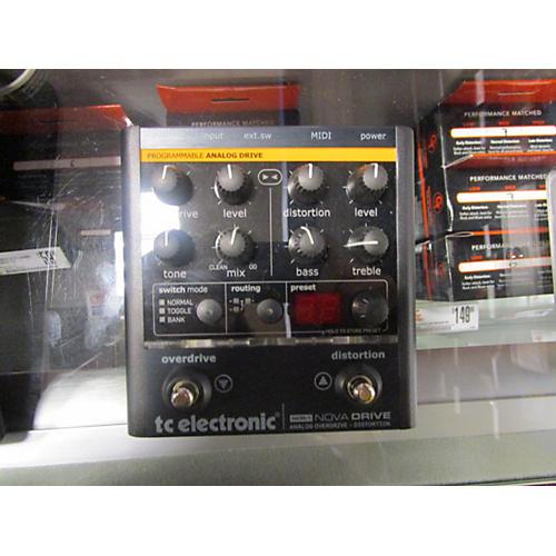 TC Electronic NDR1 Nova Drive Effect Pedal