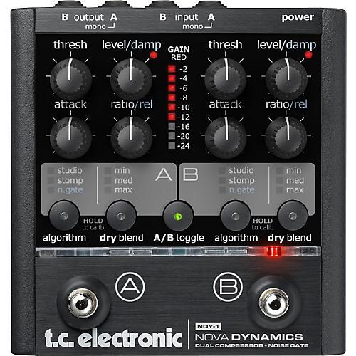 TC Electronic NDY-1 Nova Dynamics Compressor Guitar Effects Pedal