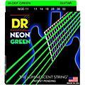 DR Strings NEON Hi-Def Green SuperStrings Heavy Electric Guitar Strings-thumbnail