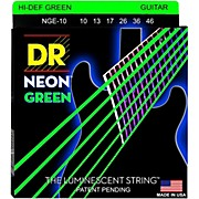 NEON Hi-Def Green SuperStrings Medium Electric Guitar Strings