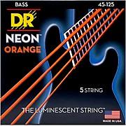 NEON Hi-Def Orange Bass SuperStrings Medium 5-String