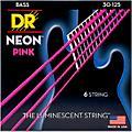 DR Strings NEON Hi-Def Pink Bass SuperStrings Medium 6-String  Thumbnail
