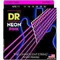 DR Strings NEON Hi-Def Pink SuperStrings Heavy Electric GUitar Strings-thumbnail