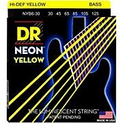 NEON Hi-Def Yellow Bass SuperStrings Medium 6-String