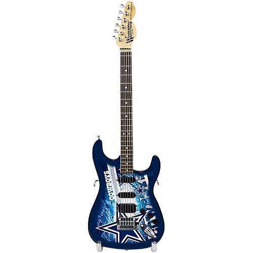 Woodrow Guitars NFL 10-In Mini Guitar Collectible