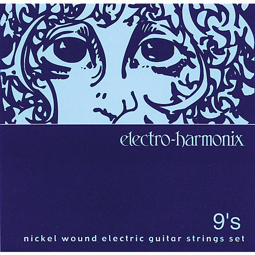 Electro-Harmonix NIC9 Nickel Wound Ultra Light Electric Guitar Strings-thumbnail