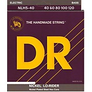 NICKEL LO-RIDER  Nickel Plated 5-String Bass Strings Lite (40-120)