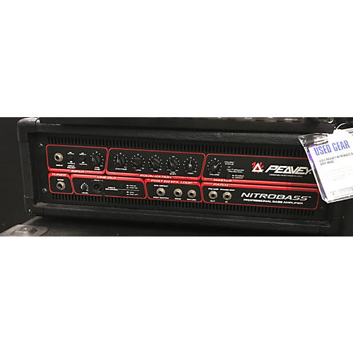 used peavey nitrobass bass amp head guitar center. Black Bedroom Furniture Sets. Home Design Ideas