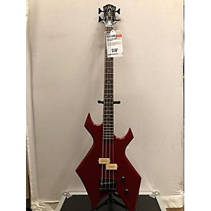 Pre-owned B.C. Rich NJ Series Warlock Bass Electric Bass Guitar by B.C. Rich