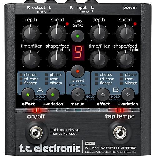 TC Electronic NM-1 Nova Modulator Modulation Guitar Effects Pedal