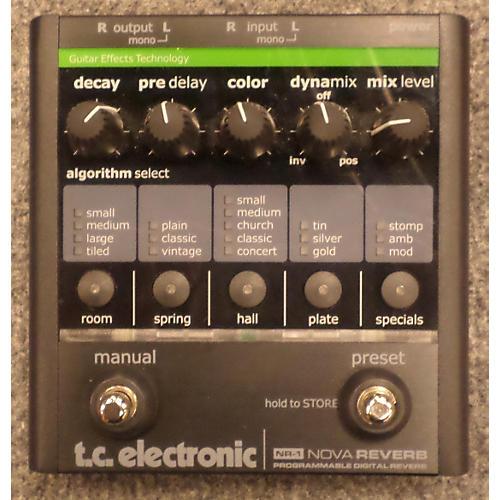 TC Electronic NOVA REVERB Effect Pedal