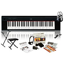 Yamaha NP-11 with M80 MkII Bench, Stand & Sustain Pedal