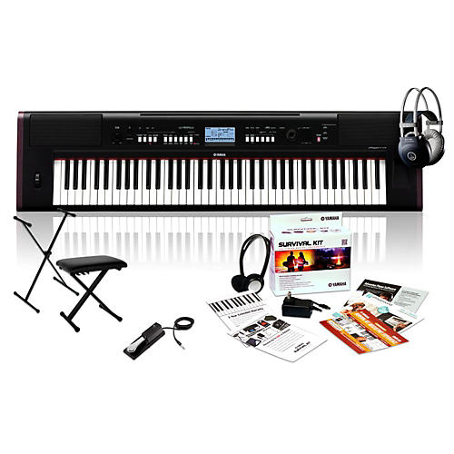 Yamaha NP-V80 with M80 MkII, Bench, Stand & Sustain Pedal