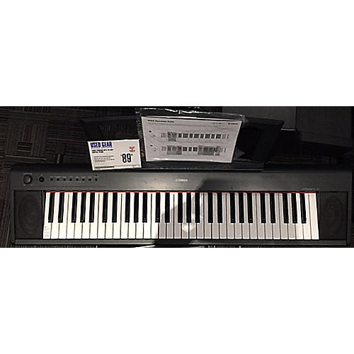 used yamaha np11 61 key digital piano guitar center