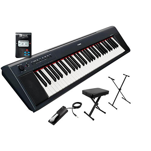 Yamaha NP11AD Stand, Bench, Metronome Package-thumbnail
