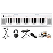 Yamaha NP12 with M80 MkII Bench, Stand & Sustain Pedal