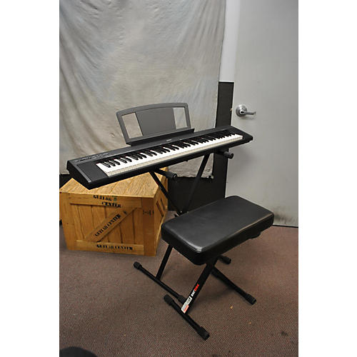 Yamaha NP30 76 Key Keyboard, Stand, Bench, And Pedal Digital Piano