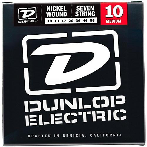 Dunlop NPS 7-string Electric Guitar Strings (10-56)-thumbnail