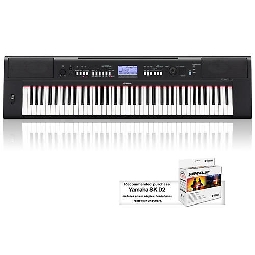 Yamaha NPV60 76-Key Mid-Level Piaggero Ultra-Portable Digital Piano-thumbnail