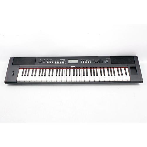 Yamaha NPv80 76-Key High-Level Piaggero Ultra-Portable Digital Piano  888365377599