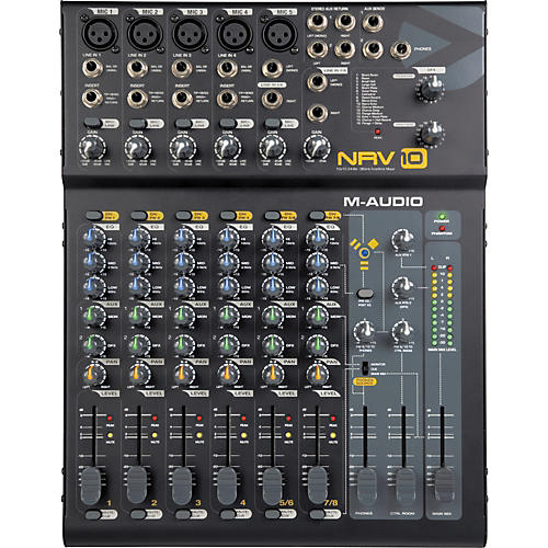 M-Audio NRV10 8-Channel FireWire Analog Mixer-thumbnail