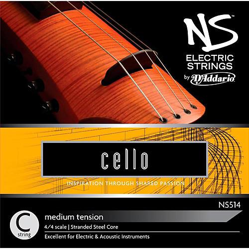 D'Addario NS Electric Cello C String