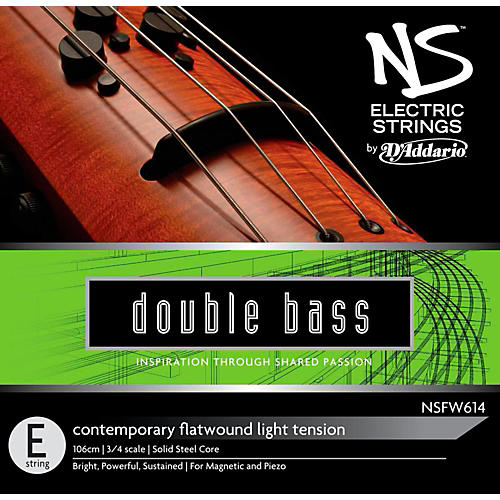 D'Addario NS Electric Contemporary Bass E String-thumbnail