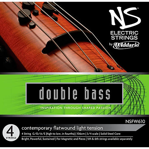 D'Addario NS Electric Contemporary Bass String Set-thumbnail