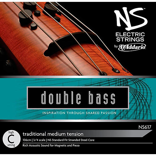 D'Addario NS Electric Traditional Bass High C String-thumbnail