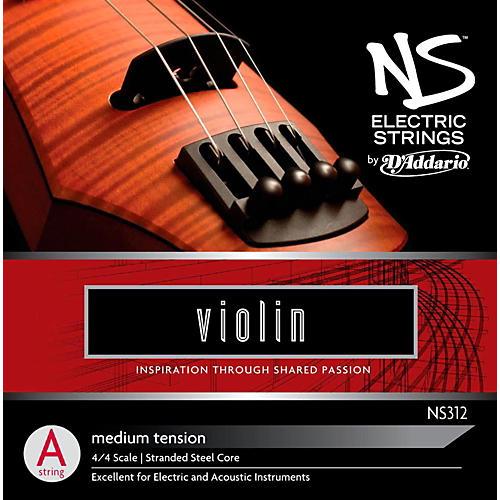 D'Addario NS Electric Violin A String-thumbnail