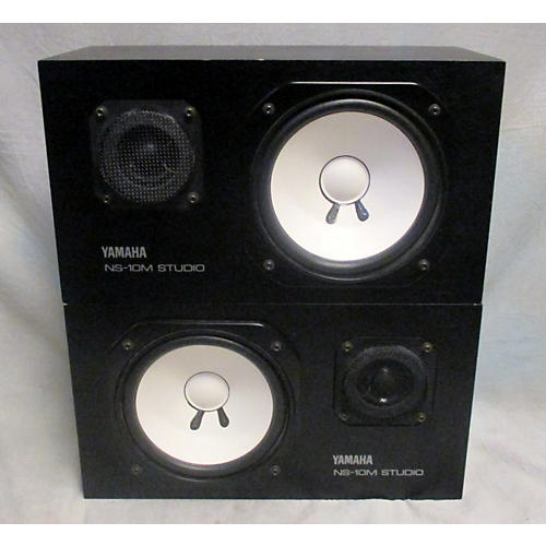 Yamaha NS10M STUDIO MONITOR PAIR Unpowered Monitor