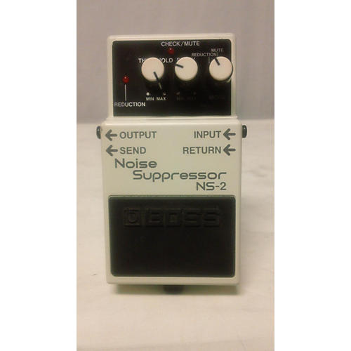 how to use noise suppressor pedal