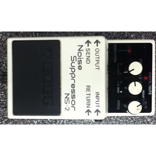 Boss NS2 Noise Suppressor White Effect Pedal