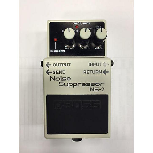 Boss NS2 Noise Suppressor White Effect Pedal-thumbnail