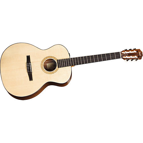 Taylor NS24-E-G Grand Auditorium Nylon-String Acoustic-Electric Guitar-thumbnail