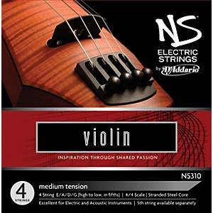 D'Addario NS310 NS Electric Violin Strings