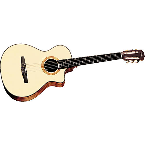 Taylor NS32-CE Nylon String Grand Concert Cutaway Acoustic-Electric Guitar (2010 Model)-thumbnail