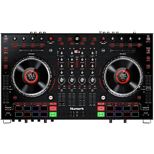 Numark NS6II Premium 4-Channel Serato DJ Controller with Dual USB and HD Color Displays-thumbnail