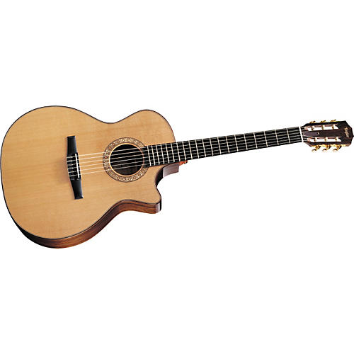 Taylor NS74ce Grand Auditorium Cutaway Nylon-String Acoustic–Electric Guitar (2011 Model) Natural