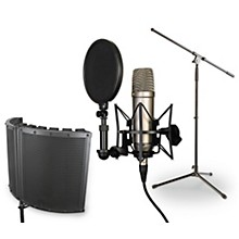 Rode Microphones NT1-A VS1 Stand Pop Filter and Cable Kit