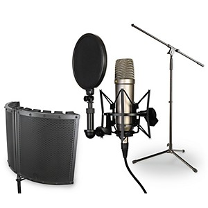 Rode Microphones NT1-A VS1 Stand Pop Filter and Cable Kit by Rode Microphones