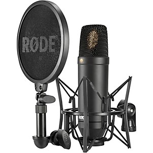 Rode Microphones NT1 Condenser Microphone Package by Rode Microphones