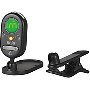 NT100 Ninja Clip-On/Versa-Mount Chromatic Tuner Black